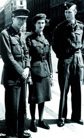 Flemming B. Muus, Varinka W. Muus and Ole Geisler (S.O.E. Agent)
